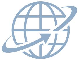 Welt-Icon-blau